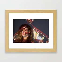 Nicole Hershdog No. 3 Framed Art Print
