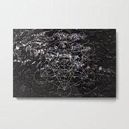 Metatronic Metal Print