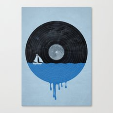 Songs for the Sea Canvas Print