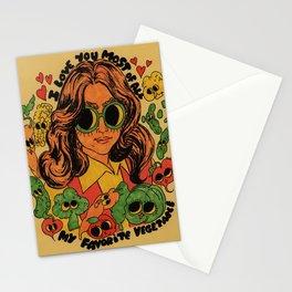 Vegetables Stationery Cards