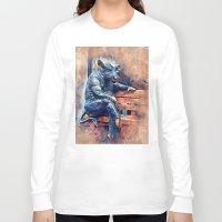 taurus Long Sleeve T-shirts featuring Taurus by jbjart