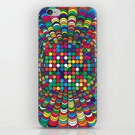 Focus Geometric Art Print. iPhone Skin