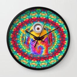 Minion Peace Wall Clock
