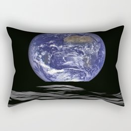NASA-planet-asteroid poster Rectangular Pillow