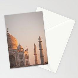 Taj Mahal At Sunset Stationery Cards