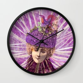 Forest Fairy Princess Wall Clock