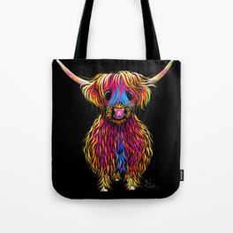 HiGHLaND CoW PRiNT SCoTTiSH ' BuTCH ' BY SHiRLeY MacARTHuR Tote Bag