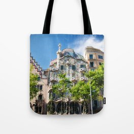 Casa Batllo, Barcelona, Catalonia, Spain Tote Bag