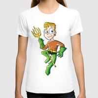 aquaman T-shirts featuring Aquaman! by neicosta