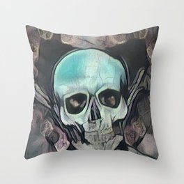 Love & death Throw Pillow