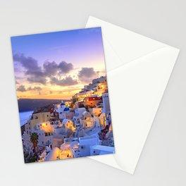 Santorini #society6 #decor #buyart Stationery Cards