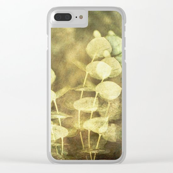 Fading Honesty Clear iPhone Case