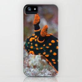 Orange-spotted Nembrotha Monster Nudibranch iPhone Case