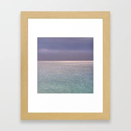seascape 003: firmament Framed Art Print
