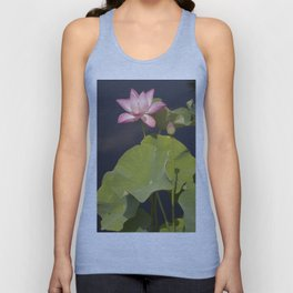 Lotus Flower by Teresa Thompson Unisex Tank Top