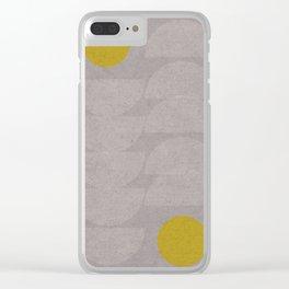 Queue leu leu Clear iPhone Case