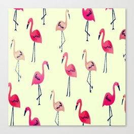 FLAMINGO-TRO Canvas Print