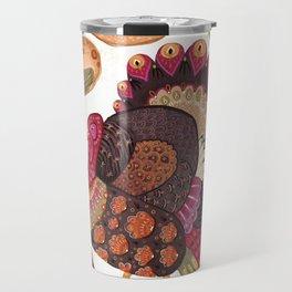Thanksgiving Dinner Travel Mug
