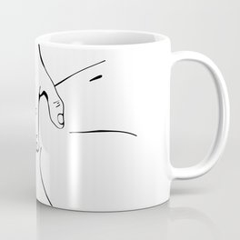 Touching you softly Coffee Mug