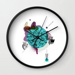 Mental Note #2 Wall Clock