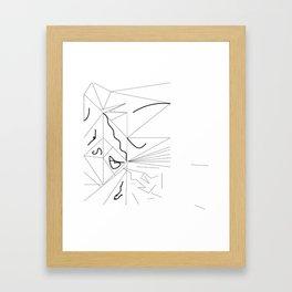 petite amie Framed Art Print