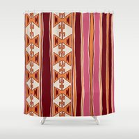 cleveland Shower Curtains featuring Cleveland by Little Brave Heart Shop