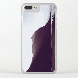 Sunlit Mountains - Waimanalo, Hawaii Clear iPhone Case
