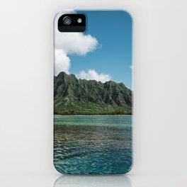Hawaiian Mountain II iPhone Case