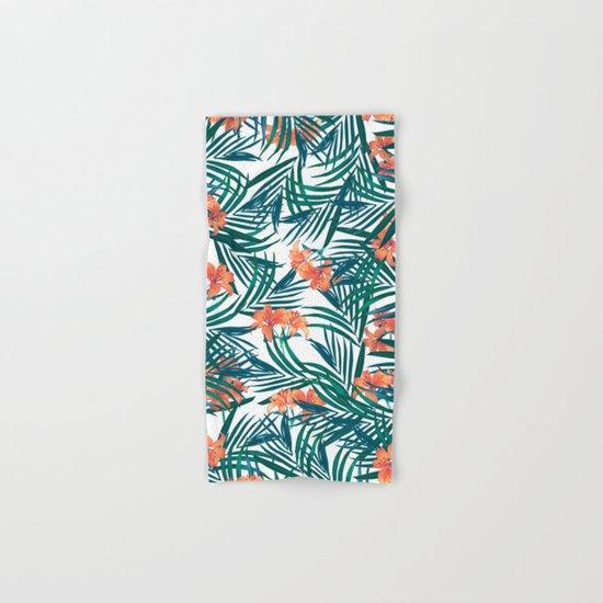 Tropical Lilies Hand & Bath Towel