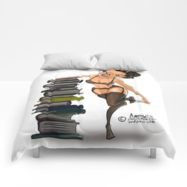 The Sexy Librarian Comforters