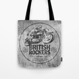 British Rockers 1967 Tote Bag