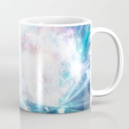 Blue explosion Coffee Mug