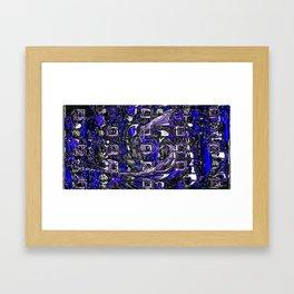 plastic wax factory 16 - Father Dagon Framed Art Print