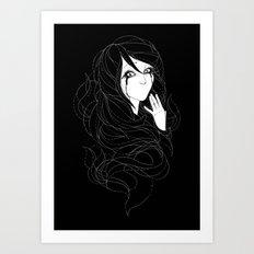Speechless Art Print