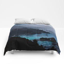 Big Sur Blue Comforters