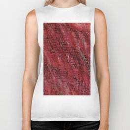 Color gradient and texture 17 red Biker Tank