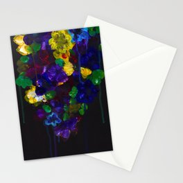 Drip Flowers - Botanical - Floral Stationery Cards