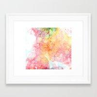 bubbles Framed Art Prints featuring Bubbles by emilie
