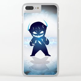 Baby Zoom got angry Clear iPhone Case