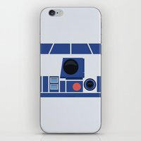 boob iPhone & iPod Skins featuring R2-D2 by dudsbessa
