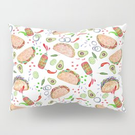 """Tacos are """"Hot Stuff"""" and we love them! Pillow Sham"""