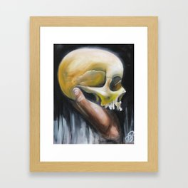 deaths deceit Framed Art Print