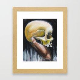 deaths deceit Framed Art Print