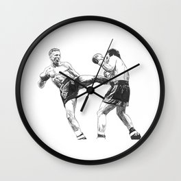 "Ramon ""The Diamond"" Dekkers Wall Clock"