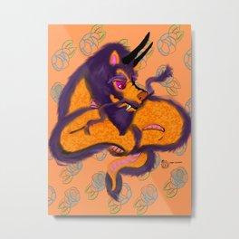 Fancy dragon Metal Print