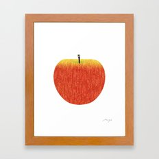 Honeycrisp Framed Art Print