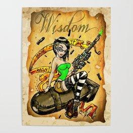 Lil Miss Atom Bomb Poster