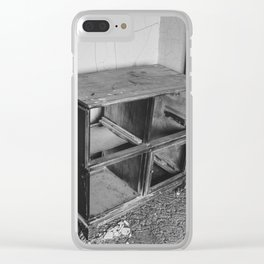The Yellow House, Arena, North Dakota 17 Clear iPhone Case