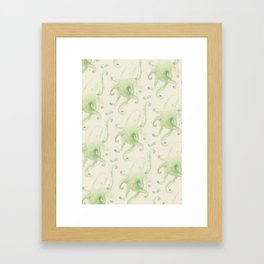 Septopus Wallpaper Framed Art Print