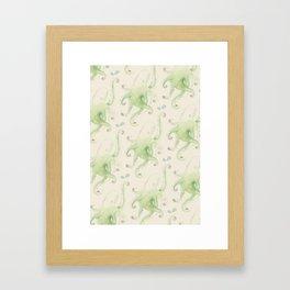 Septopus Wallpaper Framed Art Print